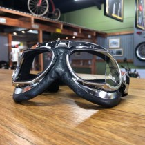 RED BARON 11 GOGGLES CHROME